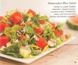watermelon bliss salad