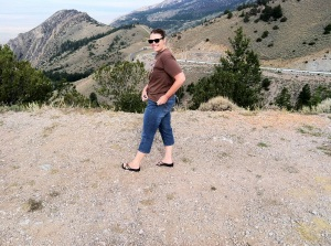 We stopped along Highway 14A in the northern Bighorns to enjoy the sweeping Wyoming vista below.