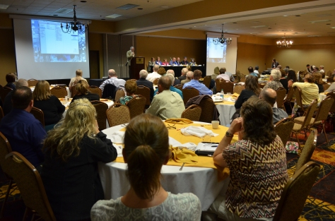 A panel of mixed stakeholders followed the remarks of Dr. David Nash on July 18 at the Ramkota.