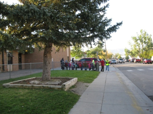 walk to school Evansville