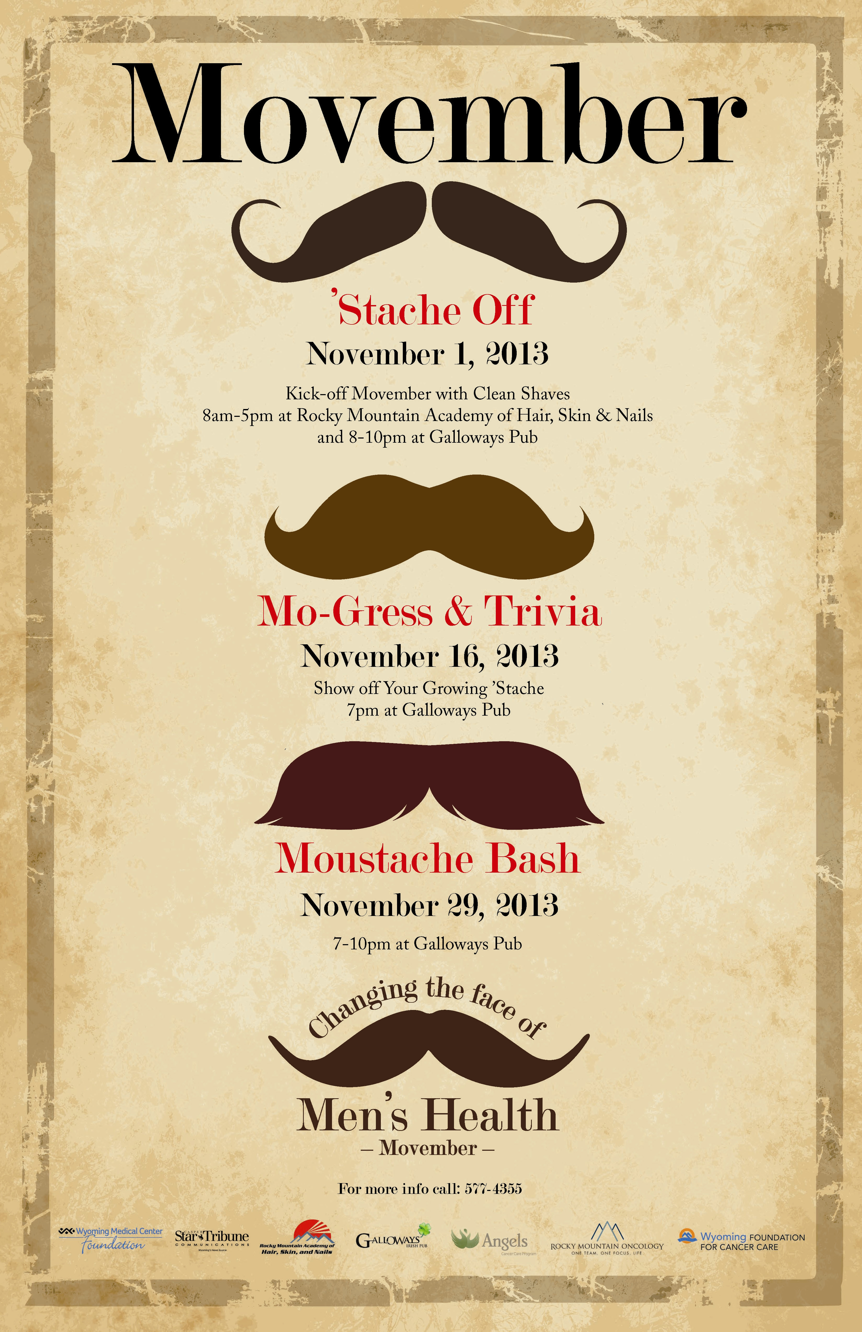 Movember Changing The Face Of Men S Health With Your