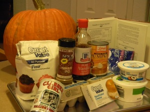 pumpkin roll ingredients