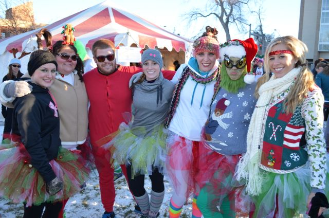 Reindeer Run team picture