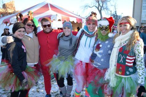 Reindeer Run team picture