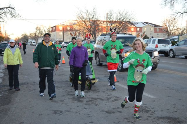 Reindeer Runners and walkers