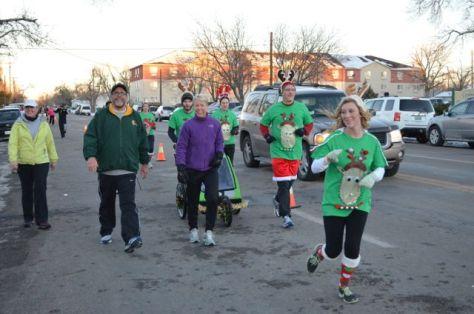 Reindeer Runners and walkers