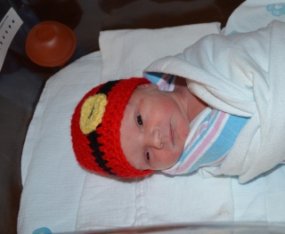Dominick Allen Reynolds was born to Anggie Young and Donald Reynolds at 11:56 a.m. Dec. 25, 2013.